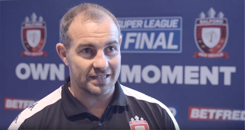 Salford coach Ian Watson believes his side's success is down to being written off