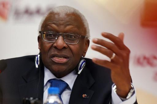 Former IAAF chief Diack 'charged with corruption': source