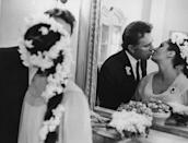 <p>While actress Elizabeth Taylor had seven marriages, none were as turbulent as her pairing with actor Richard Burton. The fifth marriage for Taylor and second for Burton first occurred in 1964. But the duo went on to divorce and remarry each other in 1975 – only to divorce once again a year later. Taylor partnered up with John Warner that same year while Burton moved on to British model Suzy Miller in 1976.</p>