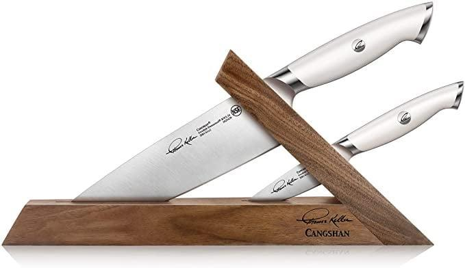 <p>Add this <span>Cangshan Thomas Keller Signature Collection Swedish Powder Steel Forged, 3-Piece TAI Block</span> ($300) to your kitchen essentials.</p>