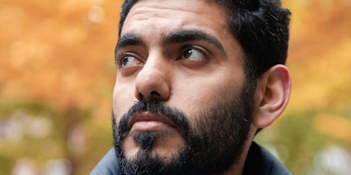 MONTREAL, CANADA - OCTOBER 17: Omar Abdulaziz poses for a portrait in Montreal. Abdulaziz, a 27-year-old Saudi opposition activist, is a close associate of the missing Saudi journalist Jamal Khashoggi. (Photo by François Ollivier for The Washington Post via Getty Images)
