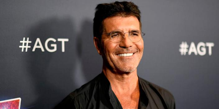 """Simon Cowell attends """"America's Got Talent"""" Season 14 Live Show Red Carpet at Dolby Theatre on September 17, 2019 in Hollywood, California."""