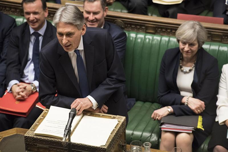 Philip Hammond announced the National Insurance increase in his Budget statement (UK Parliament/Mark Duffy/PA )