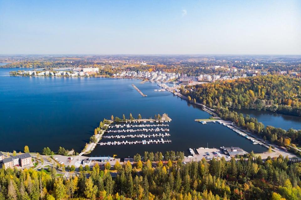 Lahti is surrounded by nature (Getty Images/iStockphoto)