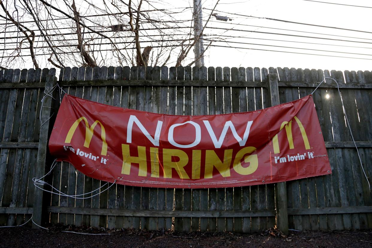 A McDonald's restaurant in Atlantic Highlands, N.J. (AP Photo/Julio Cortez, File)