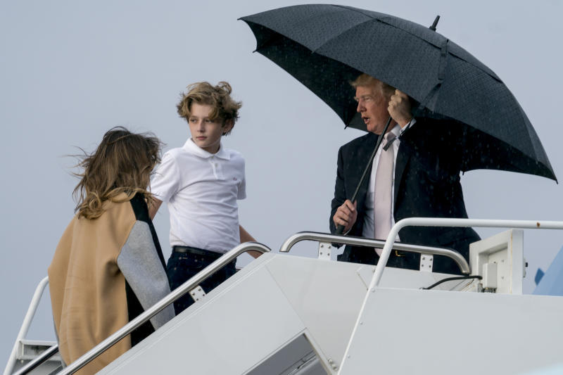 Image result for donald not sharing umbrella