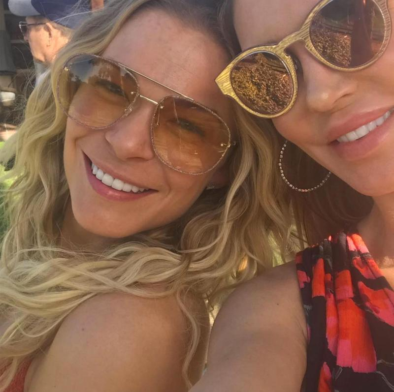 Brandi Glanville Buddies Up with LeAnn Rimes While Celebrating Son's Birthday: 'Peace'