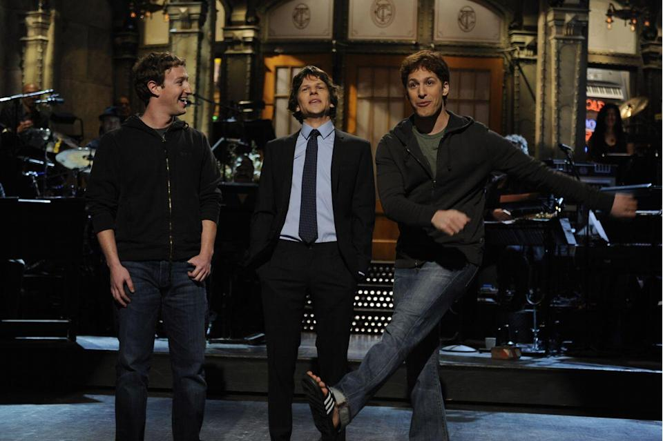 <p>Jesse Eisenberg played Facebook founder Mark Zuckerberg in the 2010 movie <em>The Social Network. </em></p>