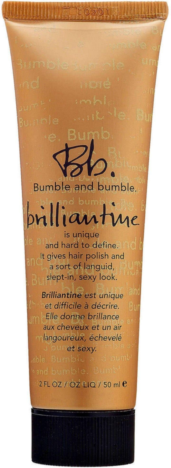 "<p>This styling cream somehow gives hair a polished, yet slept-in look with separation and extra shine. There's a reason our readers keep buying this stuff — and we can't keep it in stock in our beauty closet, either.</p><br><br><strong>Bumble and bumble</strong> Brilliantine, $24, available at <a href=""https://www.sephora.com/product/brilliantine-P280544#locklink"" rel=""nofollow noopener"" target=""_blank"" data-ylk=""slk:Sephora"" class=""link rapid-noclick-resp"">Sephora</a>"