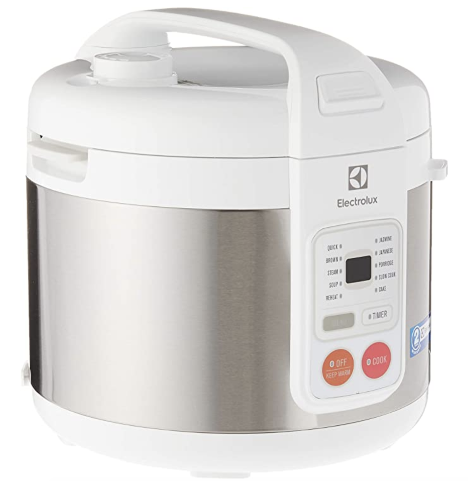 Electrolux ERC3505 Rice Cooker. (PHOTO: Amazon)