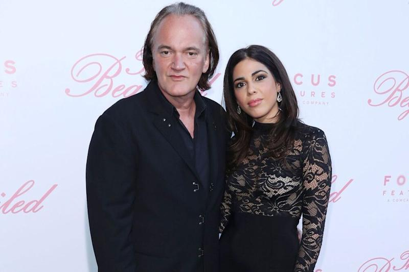 Quentin Tarantino & Wife Daniella Pick Welcome First Child!