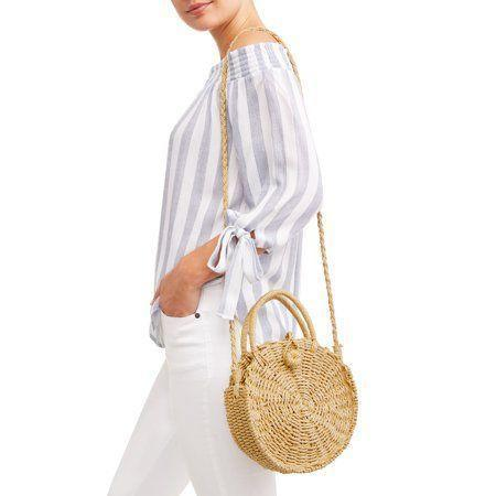 "<h3>Straw Crossbody Bag</h3><p>Nothing says summer like a straw bag, and we're so glad that the canteen silhouette is still very much on-trend. This roomy raffia cross-body is small enough to sling across your shoulder but roomy enough to still accommodate books, sunscreen, and your favorite shades.</p><br><br><strong>Eliza May Rose</strong> Compass Bag, $34, available at <a href=""https://www.walmart.com/ip/Eliza-May-Rose-Compass-Bag/113775417?selected=true"" rel=""nofollow noopener"" target=""_blank"" data-ylk=""slk:Walmart"" class=""link rapid-noclick-resp"">Walmart</a>"