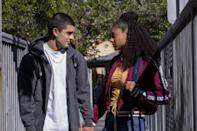 """<p>This series takes a look into the lives of a group of street-savvy friends who are in the middle of navigating their way through high school, including all of the ups, downs, and new experiences they go through along the way.</p> <p><a href=""""https://www.netflix.com/title/80117809?so=su"""" class=""""link rapid-noclick-resp"""" rel=""""nofollow noopener"""" target=""""_blank"""" data-ylk=""""slk:Watch On My Block on Netflix now"""">Watch <strong>On My Block</strong> on Netflix now</a>. </p>"""