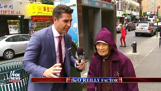 Activists blast 'O'Reilly Factor' Chinatown piece as racist