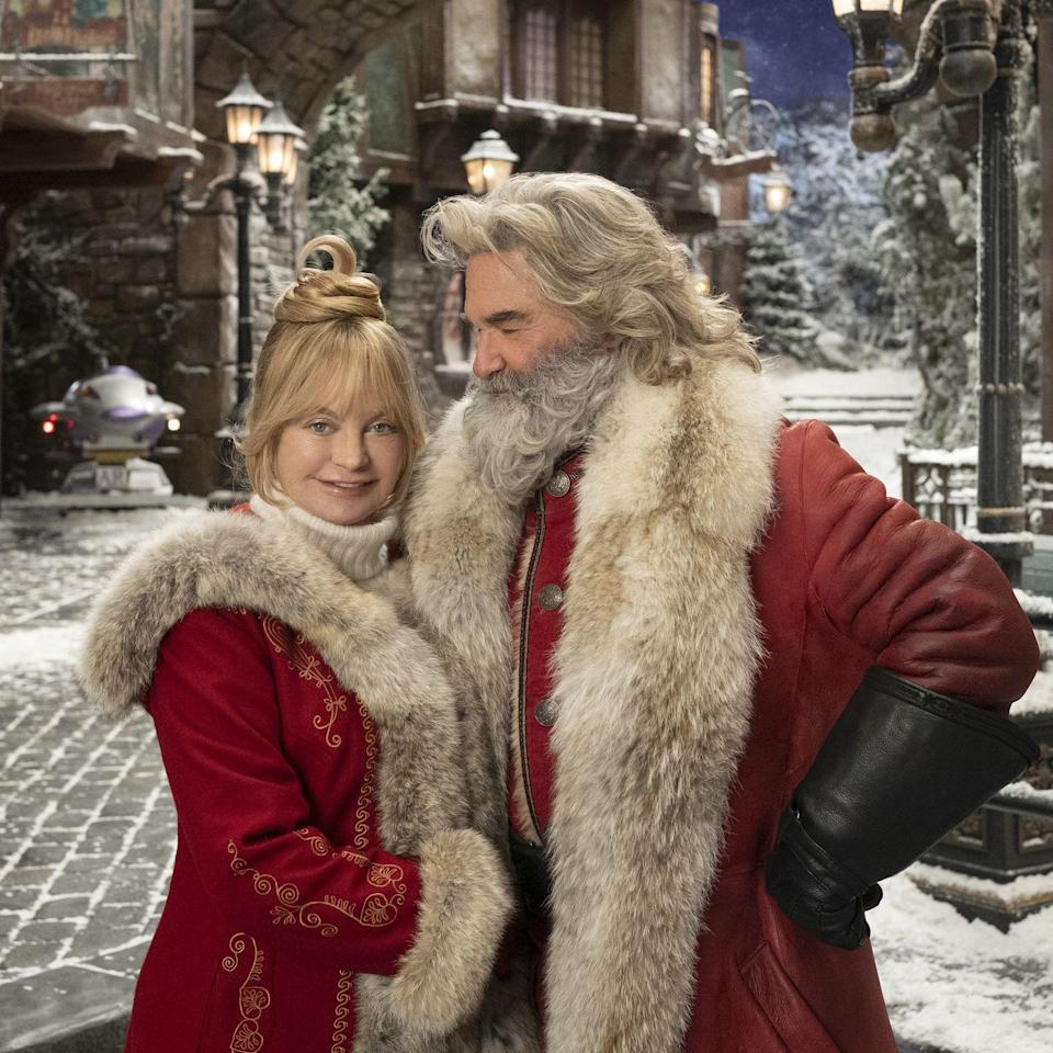 <p>Chris Columbus, who may as well be known as the maestro of merry nostalgia—he's behind beloved favorites like <em>Home Alone, Home Alone 2, and Stepmom</em>—takes over the director's chair for subsequent chapters in Netflix's <em>Christmas Chronicles</em>. Starring the hottest Mr. and Mrs. Claus duo since … ever, the second installment sees Kurt Russell and Goldie Hawn reunite with Darby Camp, who plays the now-teenage Kate Pierce, for another magical adventure.</p><p><strong>Look for it:</strong> November 25 on Netflix</p>