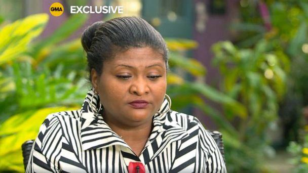 PHOTO: Roxanne Nelson, the mother of Quawan Charles, in an exclusive interview with 'Good Morning America.' (ABC News)