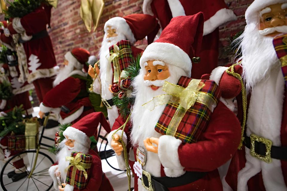 The festive hiring spree by employers comes a full month later than normal, as Christmas recruitment typically begins in earnest in late August. Photo: Mairo Cinquetti/NurPhoto via Getty Images