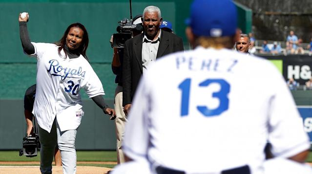 """<p>The Royals started their home opener on a somber note, honoring late pitcher Yordano Ventura. </p><p>Ventura died in a car crash in January at age 25 and the team is honoring him with jersey patches this season that read """"ACE 30,"""" his nickname and jersey number, as well as with a clubhouse tribute in his locker. </p><p>Monday's ceremony included a saxophonist playing """"Amazing Grace"""" and several of Ventura's teammates laying a banner on the mound. Ventura's mother, Marisol Hernandez, was also on hand to throw out the first pitch. </p><p>Ventura was killed on the same day as former <a href=""""https://www.si.com/mlb/2017/01/22/andy-marte-braves-indians-car-crash-death"""" rel=""""nofollow noopener"""" target=""""_blank"""" data-ylk=""""slk:MLB infielder Andy Marte"""" class=""""link rapid-noclick-resp"""">MLB infielder Andy Marte</a>. Toxicology reports were not made public in either case.</p>"""