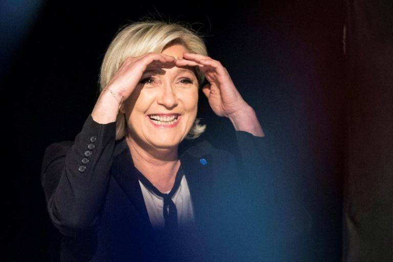 French presidential election candidate for the far-right Front National party Marine Le Pen will continue to have her  European Parliament salary halted during an expenses inquiry