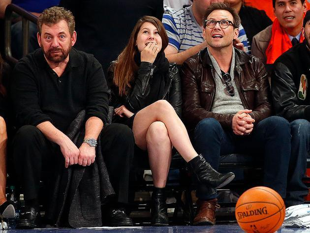 For James Dolan, it's good to be king. (Getty Images)