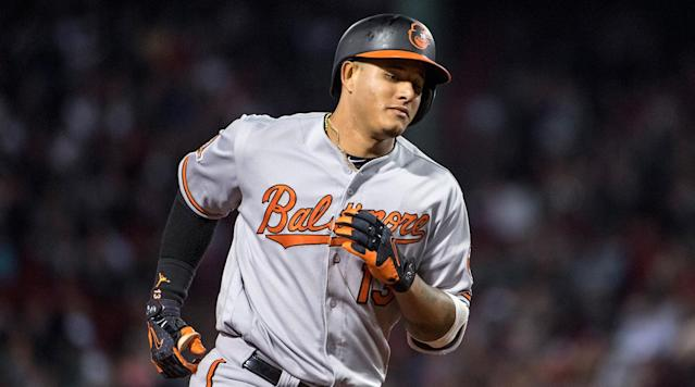 "<p>Winter Meetings has begun, but will this slow MLB offseason pick up steam at the annually frenetic event? Be sure to check in here regularly for the latest rumors, news and moves around the league.</p><h3>Top Stories</h3><p>• The Orioles are reportedly shopping third baseman Manny Machado, <a href=""https://www.mlbdailydish.com/2017/12/12/16767494/mlb-trade-rumors-orioles-manny-machado"" rel=""nofollow noopener"" target=""_blank"" data-ylk=""slk:according"" class=""link rapid-noclick-resp"">according</a> to multiple sources. The Phillies are interested in both Machado and Orioles closer Zach Britton, <a href=""http://www.masnsports.com/school-of-roch/2017/12/latest-buzz-on-machado.html"" rel=""nofollow noopener"" target=""_blank"" data-ylk=""slk:reports"" class=""link rapid-noclick-resp"">reports</a> MASN's Roch Kubatko, though FanRag Sports' Jon Heyman <a href=""https://twitter.com/JonHeyman/status/940651097068331008"" rel=""nofollow noopener"" target=""_blank"" data-ylk=""slk:notes"" class=""link rapid-noclick-resp"">notes</a> that ""there are many hurdles"" in Philadelphia's pursuit of Baltimore's third baseman</p><p>• The Nationals are ""seriously"" considering free-agent starter Jake Arrieta, <a href=""https://twitter.com/JonHeyman/status/940640855026782215"" rel=""nofollow noopener"" target=""_blank"" data-ylk=""slk:reports"" class=""link rapid-noclick-resp"">reports</a> Heyman. MASN Sports' Mark Zuckerman, however, <a href=""https://twitter.com/MarkZuckerman/status/940641143980773377"" rel=""nofollow noopener"" target=""_blank"" data-ylk=""slk:reports"" class=""link rapid-noclick-resp"">reports</a> that Arrieta's agent, Scott Boras, is ""just trying to make them interested."" The Phillies are also ""considering"" Arrieta, <a href=""https://twitter.com/JonHeyman/status/940570033826213888"" rel=""nofollow noopener"" target=""_blank"" data-ylk=""slk:reports"" class=""link rapid-noclick-resp"">reports</a> Heyman.</p><p>• Free-agent first baseman Eric Hosmer remains on the radar for the Padres, <a href=""https://twitter.com/JonHeyman/status/940569067668287488"" rel=""nofollow noopener"" target=""_blank"" data-ylk=""slk:reports"" class=""link rapid-noclick-resp"">reports</a> Heyman. MLB.com's AJ Cassavell <a href=""https://twitter.com/AJCassavell/status/940634820270526465"" rel=""nofollow noopener"" target=""_blank"" data-ylk=""slk:reports"" class=""link rapid-noclick-resp"">reports</a> that the team's interest in Hosmer is ""very real,"" according to a front-office source.</p><p>• The Marlins are pushing outfielder Marcell Ozuna in trade talks, saying he will be easier to trade than teammate Christian Yelich, <a href=""https://twitter.com/Ken_Rosenthal/status/940395993299849217"" rel=""nofollow noopener"" target=""_blank"" data-ylk=""slk:reports"" class=""link rapid-noclick-resp"">reports</a> The Athletic's Ken Rosenthal. Miami is seeking to cut payroll after trading away Dee Gordon and Giancarlo Stanton, <a href=""https://twitter.com/JonHeyman/status/940624695803744257"" rel=""nofollow noopener"" target=""_blank"" data-ylk=""slk:reports"" class=""link rapid-noclick-resp"">reports</a> Heyman, as it enters a rebuild; Ozuna is two years away from free agency. Heyman <a href=""https://twitter.com/JonHeyman/status/940629202809868288"" rel=""nofollow noopener"" target=""_blank"" data-ylk=""slk:reports"" class=""link rapid-noclick-resp"">reports</a> that the Blue Jays, Rockies, Cardinals, Nationals and Rangers are among the teams interested in Ozuna; <a href=""https://twitter.com/BNightengale/status/940658409543815168"" rel=""nofollow noopener"" target=""_blank"" data-ylk=""slk:according"" class=""link rapid-noclick-resp"">according</a> to <em>USA Today</em>'s Bob Nightengale, St. Louis has emerged as the favorite.</p><p>• The Yankees have <a href=""https://www.si.com/mlb/2017/12/12/yankees-padres-trade-chase-headley-bryan-mitchell"" rel=""nofollow noopener"" target=""_blank"" data-ylk=""slk:traded"" class=""link rapid-noclick-resp"">traded</a> pitcher Bryan Mitchell and infielder Chase Headley to the Padres for outfielder Jabari Blash. The move saves $13 million for New York, which is seeking to get under the $197 million luxury tax threshold. <em>The New York Post</em>'s Joel Sherman <a href=""https://twitter.com/Joelsherman1/status/940633226560921600"" rel=""nofollow noopener"" target=""_blank"" data-ylk=""slk:reports"" class=""link rapid-noclick-resp"">reports</a> that the Angels may be interested in Headley given the presence of Los Angeles general manager Billy Eppler, who was an assistant GM with the Yankees when they acquired Headley from San Diego in 2014.</p><p>• The Yankees are targeting Tigers starter Michael Fulmer as a trade target, <a href=""https://twitter.com/BNightengale/status/940603529772916738"" rel=""nofollow noopener"" target=""_blank"" data-ylk=""slk:reports"" class=""link rapid-noclick-resp"">reports</a> Nightengale. WFAN's Sweeny Murti <a href=""https://twitter.com/YankeesWFAN/status/940640549014564864"" rel=""nofollow noopener"" target=""_blank"" data-ylk=""slk:notes"" class=""link rapid-noclick-resp"">notes</a> that the team's interest in Fulmer, the 2016 AL Rookie of the Year, is ""high."" The Yankees are also interested in Pirates starter Gerrit Cole, Giants starter Jeff Samardzija, Diamondbacks lefty Patrick Corbin, and Athletics starters Kendall Graveman and Sean Manaea, <a href=""https://twitter.com/Joelsherman1/status/940631327317090304"" rel=""nofollow noopener"" target=""_blank"" data-ylk=""slk:reports"" class=""link rapid-noclick-resp"">reports</a> Sherman.</p><h3>News And Notes</h3><p>• The Diamondbacks are getting calls on Corbin, as well as their middle infielders. (<a href=""https://twitter.com/Ken_Rosenthal/status/940636106428698630"" rel=""nofollow noopener"" target=""_blank"" data-ylk=""slk:The Athletic"" class=""link rapid-noclick-resp"">The Athletic</a>)</p><p>• Free-agent third baseman Todd Frazier is reportedly seeking a multi-year deal. (<em><a href=""https://twitter.com/Joelsherman1/status/940633946328567814"" rel=""nofollow noopener"" target=""_blank"" data-ylk=""slk:The New York Post"" class=""link rapid-noclick-resp"">The New York Post</a></em>)</p><p>• The Padres have traded infielder Ryan Schmipf to the Rays for a minor leaguer. (<a href=""https://twitter.com/AJCassavell/status/940649873648574464"" rel=""nofollow noopener"" target=""_blank"" data-ylk=""slk:MLB.com"" class=""link rapid-noclick-resp"">MLB.com</a>)</p><p>• The Rockies are trying to add multiple relievers and are interested in Wade Davis. (<a href=""https://twitter.com/Ken_Rosenthal/status/940444003597680641"" rel=""nofollow noopener"" target=""_blank"" data-ylk=""slk:The Athletic"" class=""link rapid-noclick-resp"">The Athletic</a>)</p><p>• The Mets, Rockies, Blue Jays and Mariners are among those interested in rightfielder Jay Bruce. (<a href=""https://twitter.com/JonHeyman/status/940397269509124097"" rel=""nofollow noopener"" target=""_blank"" data-ylk=""slk:FanRag Sports"" class=""link rapid-noclick-resp"">FanRag Sports</a>)</p><p>• The Giants are unlikely to trade for Pirates outfielder Andrew McCutchen due to salary concerns (<a href=""https://twitter.com/PavlovicNBCS/status/940631363396558849"" rel=""nofollow noopener"" target=""_blank"" data-ylk=""slk:NBC Sports Bay Area"" class=""link rapid-noclick-resp"">NBC Sports Bay Area</a>)</p><p>• The Giants, Royals, Athletics, Rays and Blue Jays are all among the teams interested in free-agent outfielder Carlos Gonzalez, formerly of the Rockies. (<a href=""https://twitter.com/jcrasnick/status/940645001800900609"" rel=""nofollow noopener"" target=""_blank"" data-ylk=""slk:ESPN"" class=""link rapid-noclick-resp"">ESPN</a>)</p><p>• The Rangers have met face-to-face with free-agent reliever Fernando Rodney, who saved 39 games for the Diamondbacks last year. (<a href=""https://twitter.com/Sullivan_Ranger/status/940638226494128129"" rel=""nofollow noopener"" target=""_blank"" data-ylk=""slk:MLB.com"" class=""link rapid-noclick-resp"">MLB.com</a>)</p><p>• The Athletics could shop second baseman Jed Lowrie. (<em><a href=""http://www.sfchronicle.com/athletics/article/A-s-might-move-Jed-Lowrie-this-winter-after-12421804.php?utm_campaign=twitter-premium&utm_source=CMS%20Sharing%20Button&utm_medium=social"" rel=""nofollow noopener"" target=""_blank"" data-ylk=""slk:San Francisco Chronicle"" class=""link rapid-noclick-resp"">San Francisco Chronicle</a>)</em></p><p>• The Rockies remain interested in re-signing first baseman Mark Reynolds. (<a href=""https://twitter.com/JonHeyman/status/940454890245181442"" rel=""nofollow noopener"" target=""_blank"" data-ylk=""slk:FanRag Sports"" class=""link rapid-noclick-resp"">FanRag Sports</a>)</p><p>• The Mets are interested in free-agent reliever Juan Nicasio, who split last season between Pittsburgh and St. Louis. (<em><a href=""https://twitter.com/TylerKepner/status/940631723259375616"" rel=""nofollow noopener"" target=""_blank"" data-ylk=""slk:The New York Times"" class=""link rapid-noclick-resp"">The New York Times</a></em>)</p><p>• Free-agent second baseman Neil Walker is looking for a four-year contract. (<a href=""https://twitter.com/JonHeyman/status/940608169750953984"" rel=""nofollow noopener"" target=""_blank"" data-ylk=""slk:FanRag Sports"" class=""link rapid-noclick-resp"">FanRag Sports</a>)</p>"