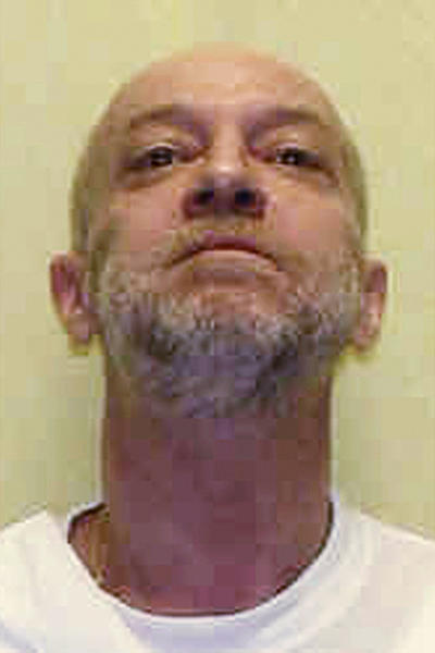 FILE - This undated file photo provided by the Ohio Department of Rehabilitation and Correction shows death row inmate Raymond Tibbetts, convicted of fatally stabbing Fred Hicks in 1997 in Cincinnati. Following Ohio's unsuccessful attempt to execute death row inmate Alva Campbell by lethal injection on Nov. 15, 2017, Tibbetts is the state's next death row inmate scheduled for execution on Tuesday, Feb. 13, 2018. (Ohio Department of Rehabilitation and Correction via AP, File)