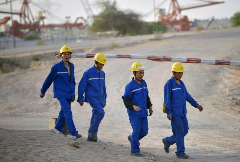 There are at least eight projects in Pakistan, including a $2 billion plant in the restive region of Balochistan