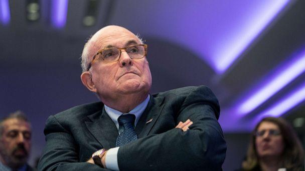 PHOTO: Rudy Giuliani, President Donald Trump's personal lawyer, attends an event in Washington, D.C., May 5, 2018. (The New York Times via Redux, FILE)