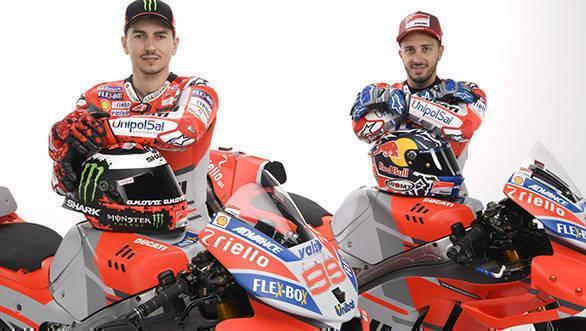 The trio will be among 12 Ducati racing legends participating in the race on July 21