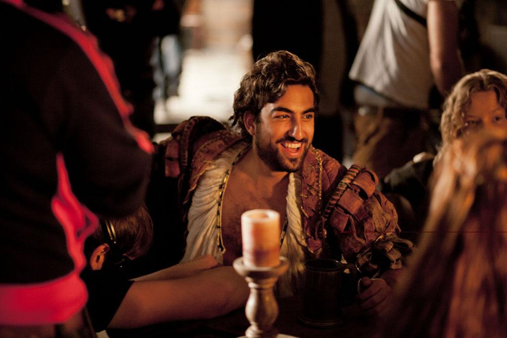 "Zoroaster (Gregg Chillin) in ""Da Vinci's Demons"" on Starz."
