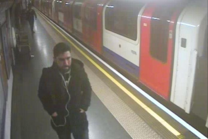 Police appeal: Officers want to speak to this man after the incident: British Transport Police