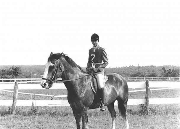 PHOTO: Candace Bushnell as a teenager on her horse, Harry. (Courtesy of Candace Bushnell)