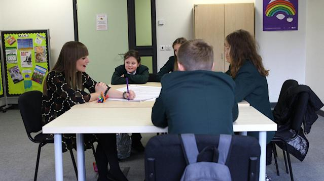 Young people across Barnsley are being supported by a pioneering mental health scheme embedded in secondary schools.