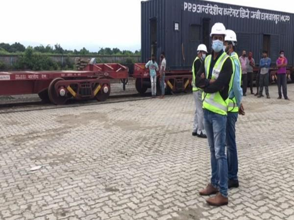 Visual from Dabgram Inland Container Depot