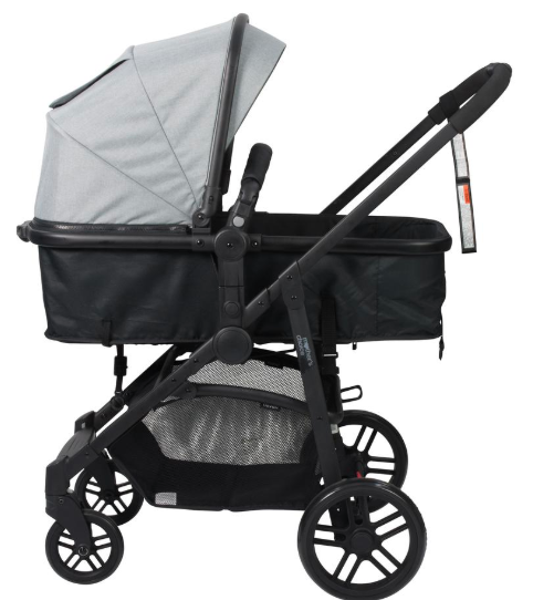 Mother's Choice 3-in-1 Haven 4 Wheel Stroller may be a mouthful, but it's light on the wallet at just $250. Photo: Big W