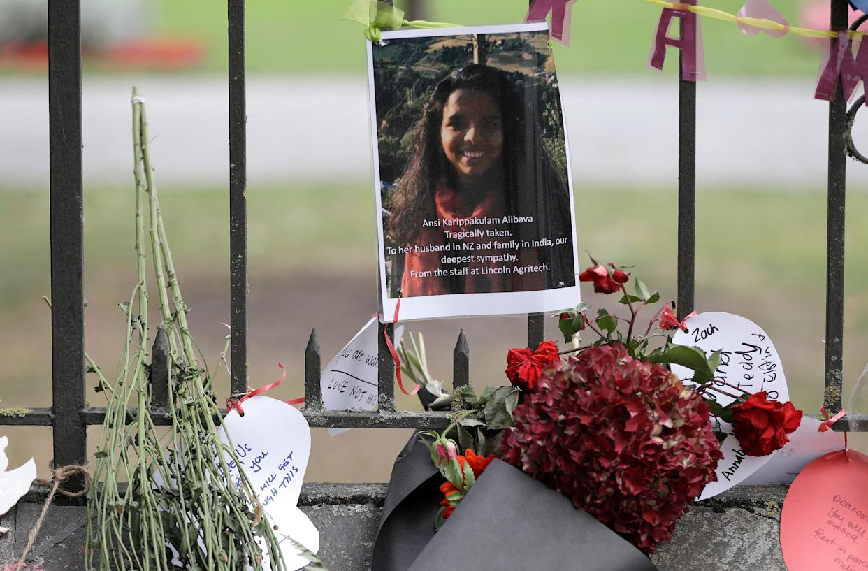 Another alleged 8chan user killed 51 worshippers at two mosques in New Zealand in March. (Photo: ASSOCIATED PRESS)