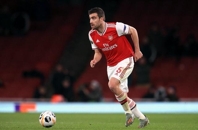 Defender Sokratis Papastathopoulos has also been left of of both Premier League and Europa League squads.