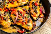 """<p>A can of black beans is one of those foods that always seems to be lurking in the back of your pantry. If you need a new and improved way to use it up, try these black bean soups, bowls, dips, and bakes. There's something for every meal, from breakfast to dessert. Get ready to up your protein game! And for even more healthy meals, try these <a href=""""https://www.delish.com/cooking/nutrition/g1441/healthy-packed-lunches/"""" rel=""""nofollow noopener"""" target=""""_blank"""" data-ylk=""""slk:easy lunch ideas"""" class=""""link rapid-noclick-resp"""">easy lunch ideas</a>.</p>"""