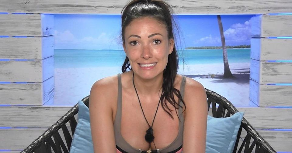 Sophie Gradon appeared on 'Love Island' in 2016. (Credit: ITV)