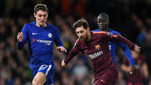 Despite the young centre-back handing Lionel Messi a crucial away goal with a poor pass, the man in charge at Stamford Bridge has defended the Dane