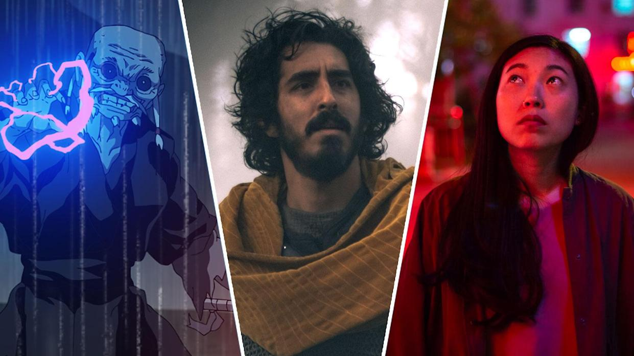 Star Wars: Visions, The Green Knight and The Farewell are all new to streaming this weekend (Lucasfilm/A24)