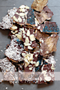 """<p>Spread melted chocolate over matzah and then sprinkle with almonds, coconut, and sprinkles (and even edible glitter!) to level up a basic chocolate bark treat. </p><p><em><a href=""""https://whatjewwannaeat.com/matzah-bark/"""" rel=""""nofollow noopener"""" target=""""_blank"""" data-ylk=""""slk:Get the recipe from What Jew Wanna Eat »"""" class=""""link rapid-noclick-resp"""">Get the recipe from What Jew Wanna Eat »</a></em></p>"""