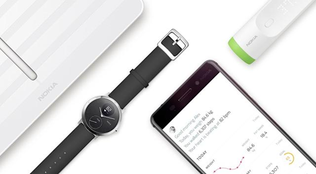 Withings Nokia devices