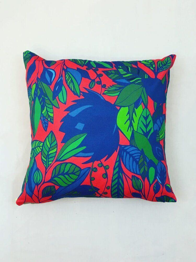 "<p>rochelleporter.com</p><p><strong>$49.00</strong></p><p><a href=""http://www.rochelleporter.com/pillowart/red-jungle"" rel=""nofollow noopener"" target=""_blank"" data-ylk=""slk:Shop Now"" class=""link rapid-noclick-resp"">Shop Now</a></p><p>This Atlanta-based brand makes bright sustainable home accessories and textiles.</p>"