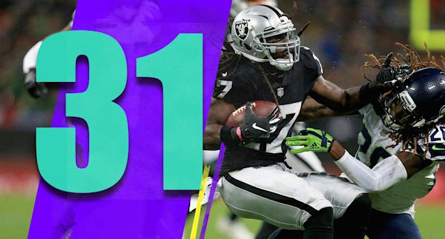 <p>Cornerback Gareon Conley, a 2017 first-round pick, played zero defensive snaps Sunday. Oakland is also reportedly shopping 2015 first-round pick Amari Cooper in a trade, 2016 first-round pick Karl Joseph doesn't play anymore and 2018 first-round pick Kolton Milleris struggling. That's a really bad stretch of first-round picks. (Dwyane Harris) </p>