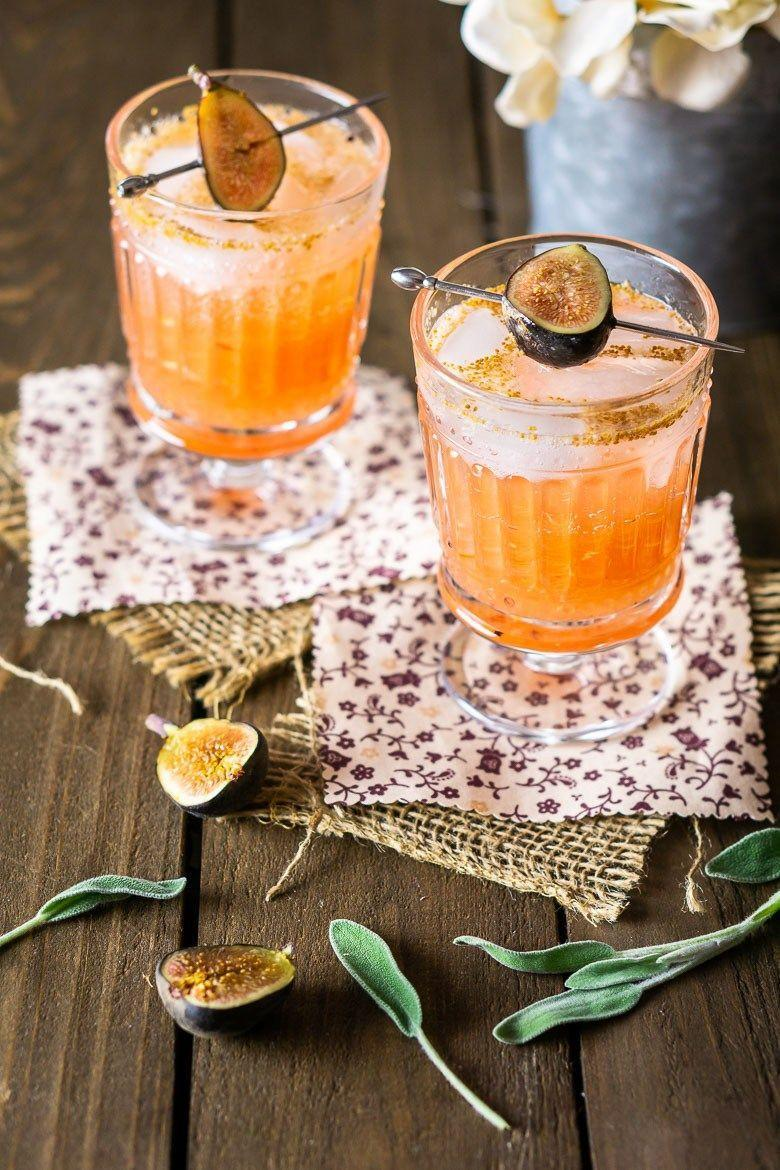 """<p>Not into apple and pumpkin cocktails? Try this refreshing fig and sage rum drink instead.</p><p><strong>Get the recipe at <a href=""""https://burrataandbubbles.com/sage-fig-cocktail/"""" rel=""""nofollow noopener"""" target=""""_blank"""" data-ylk=""""slk:Burrata and Bubbles"""" class=""""link rapid-noclick-resp"""">Burrata and Bubbles</a>.</strong></p><p><strong><a class=""""link rapid-noclick-resp"""" href=""""https://go.redirectingat.com?id=74968X1596630&url=https%3A%2F%2Fwww.walmart.com%2Fbrowse%2Fdining-entertaining%2Fdrinkware%2F4044_623679_639999_3148543%3Ffacet%3Dbrand%253AThe%2BPioneer%2BWoman&sref=https%3A%2F%2Fwww.thepioneerwoman.com%2Ffood-cooking%2Fmeals-menus%2Fg33510531%2Ffall-cocktail-recipes%2F"""" rel=""""nofollow noopener"""" target=""""_blank"""" data-ylk=""""slk:SHOP DRINKWARE"""">SHOP DRINKWARE</a><br></strong></p>"""