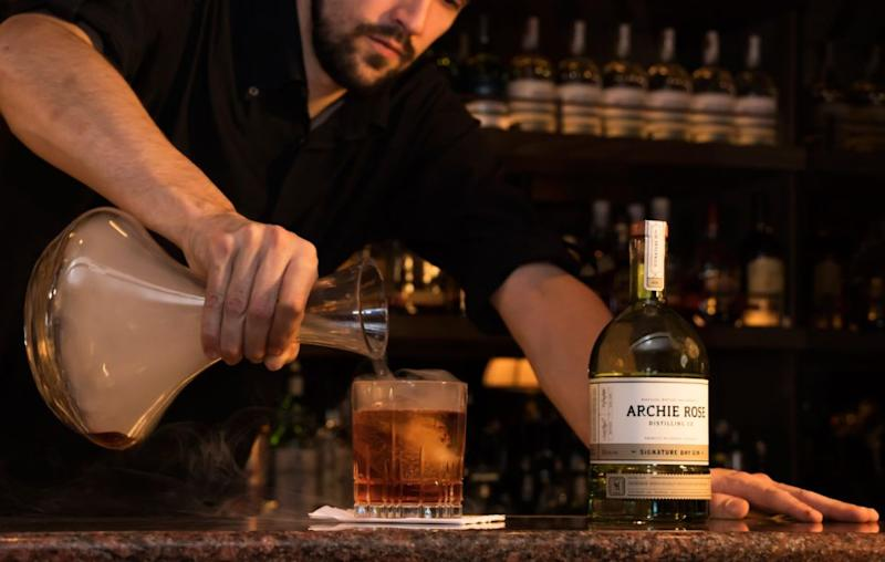 For a more chilled-out drink, there's The Bonded Store bar where Archie Rose local gin was always flowing. Source: Supplied