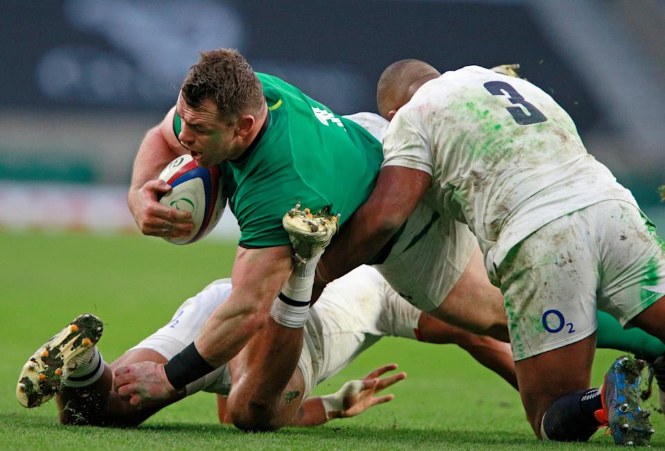The prop believes England won't need to defend as much as they did against IrelandAP