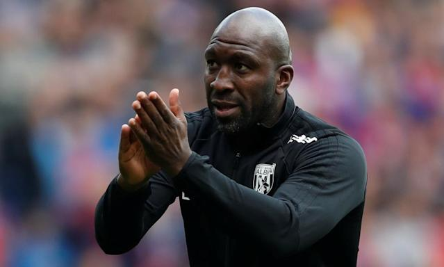 West Brom appoint Darren Moore as manager after successful interim spell