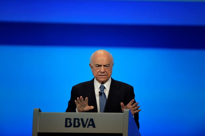 Spain's prosecutor asks court to put former BBVA chairman 'FG' under investigation